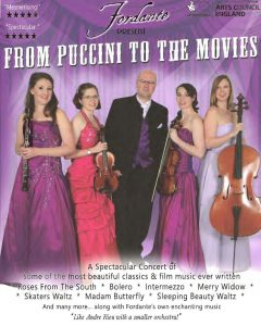 """Fordante Present """"From Puccini To The Movies & More"""" @ Mareham Le Fen Village Hall 