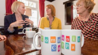 Call for over 50s to get connected with a Community Cuppa