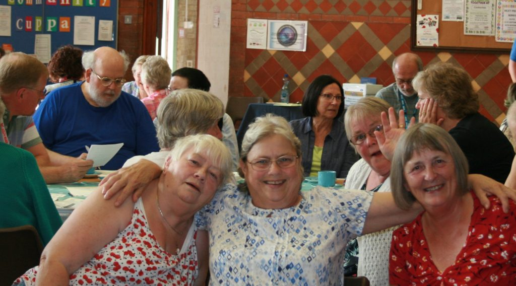 Participants enjoying a cuppa at one of our September events!